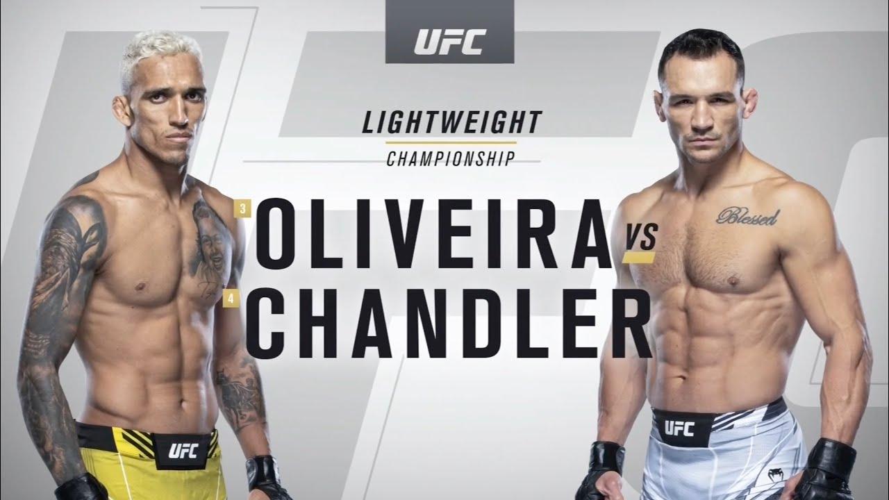 oliveira vs chandler highlights