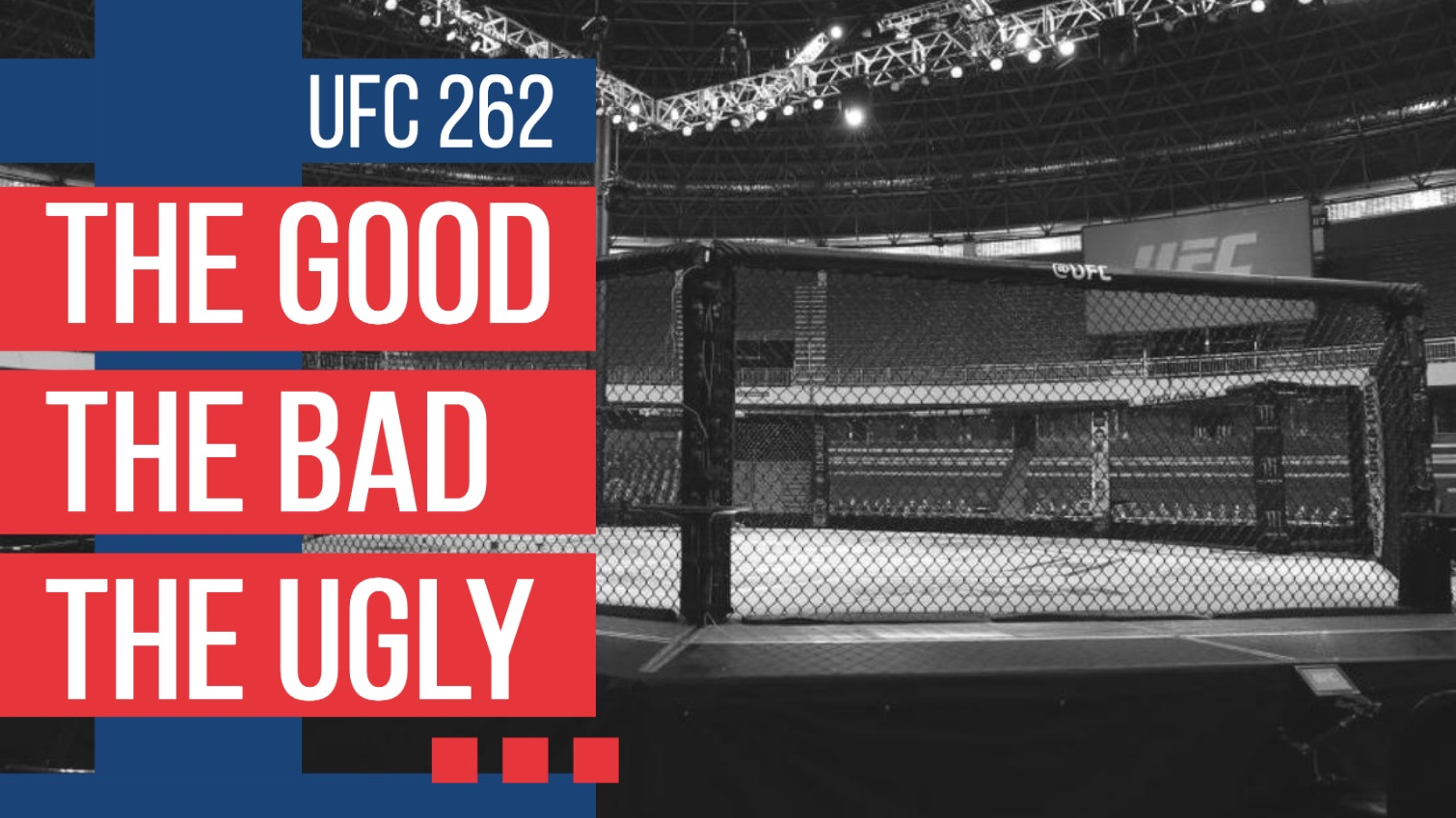 the good the bad the ugly ufc 262