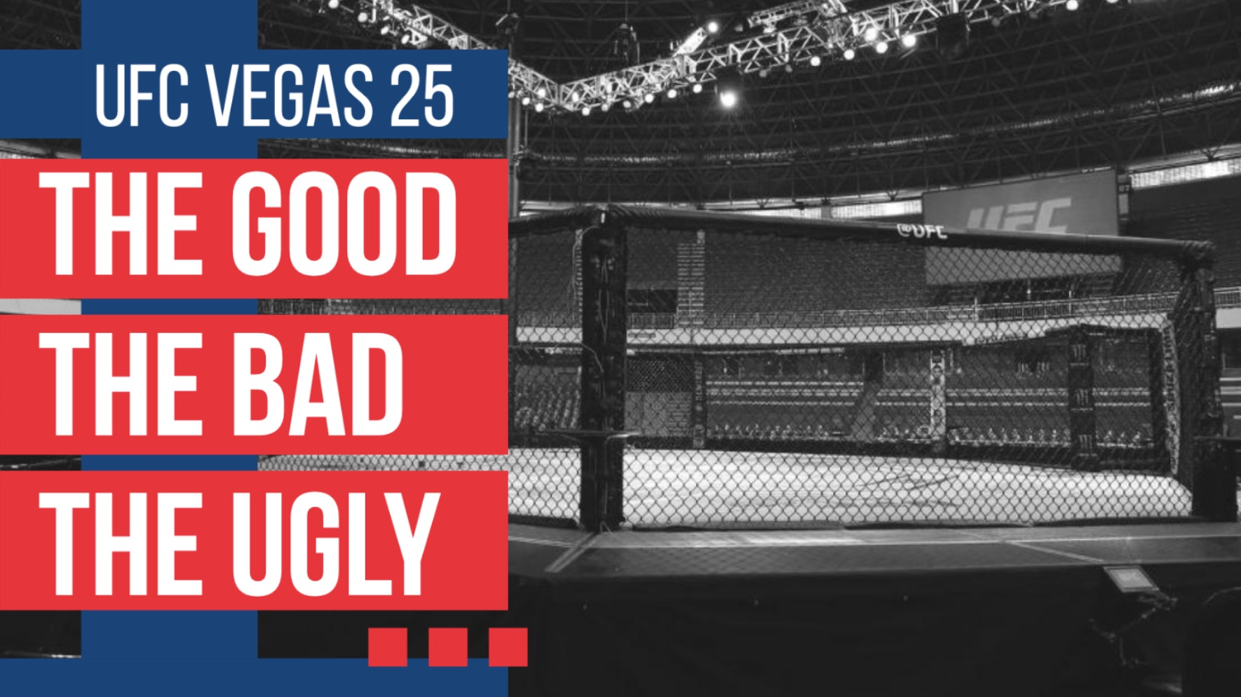 the good the bad the ugly ufc vegas 25