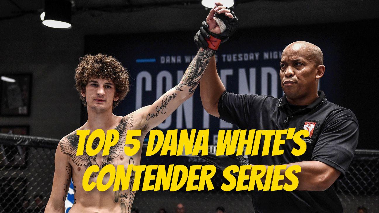 top 5 dana white's contender series
